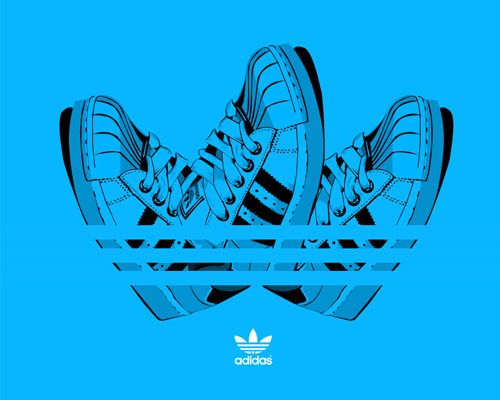 adidas1 31 Spectacular Examples of Adidas Artworks & Commercials