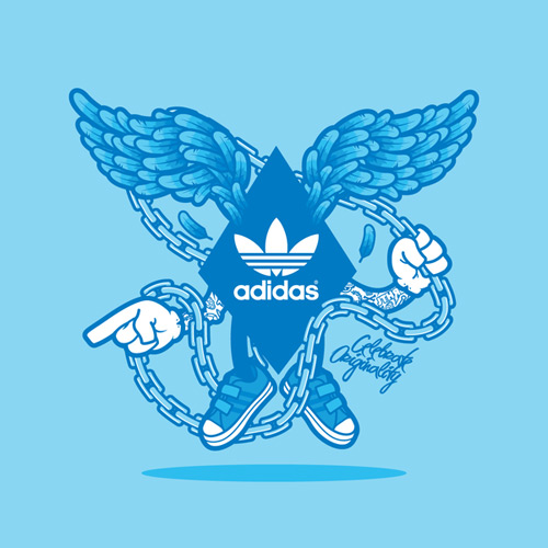 adidas121 31 Spectacular Examples of Adidas Artworks & Commercials