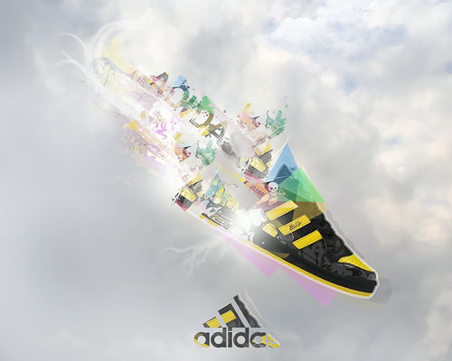 adidas3 31 Spectacular Examples of Adidas Artworks & Commercials