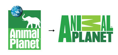animalplanet1 60 Recently Redesigned Corporate Identities