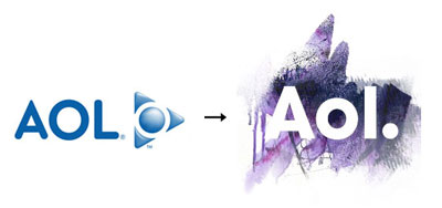 aol1 60 Recently Redesigned Corporate Identities