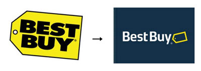 bestbuy1 60 Recently Redesigned Corporate Identities