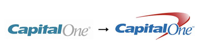 capitolone1 60 Recently Redesigned Corporate Identities