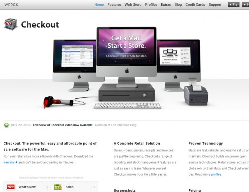 checkoutapp 500x387 35 Beautiful Mac App Web Designs