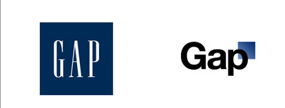 gap 60 Recently Redesigned Corporate Identities