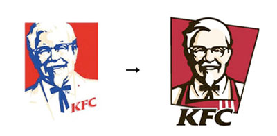 kfc1 60 Recently Redesigned Corporate Identities
