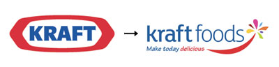 kraft1 60 Recently Redesigned Corporate Identities