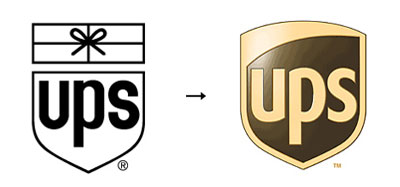 ups1 60 Recently Redesigned Corporate Identities