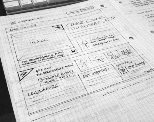 4659003635 d222d68e20 z1 25 Examples of Wireframes and Mockups Sketches