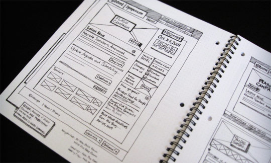 4803582708 8499571550 z1 25 Examples of Wireframes and Mockups Sketches