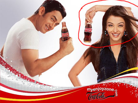 Coca Cola 30 Examples of Commercial Photoshop Disasters
