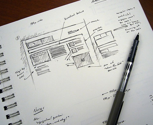 Early BusinessWeek 25 Examples of Wireframes and Mockups Sketches