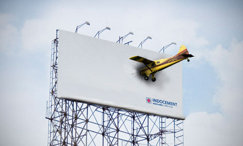 Heidelberg Cement Group1 35 Creative Examples of Billboard Designs