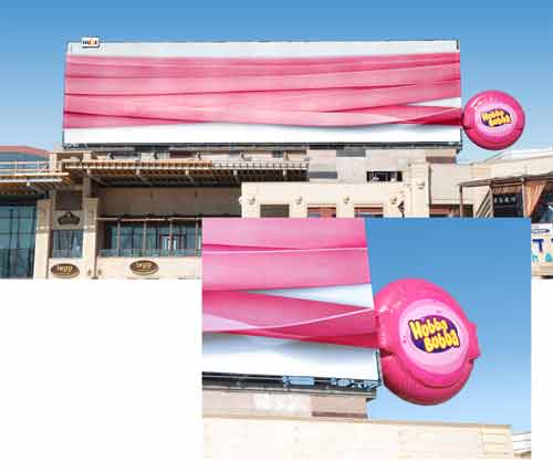 Hubba Bubba longest ever1 35 Creative Examples of Billboard Designs