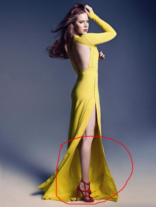 Instyle Amy Adams Im Stumped 30 Examples of Commercial Photoshop Disasters
