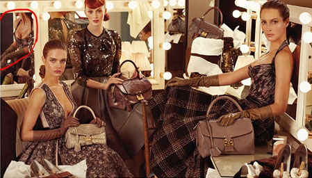 Louis Vuitton 30 Examples of Commercial Photoshop Disasters