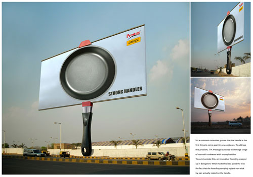 Strong handle billboard1 35 Creative Examples of Billboard Designs