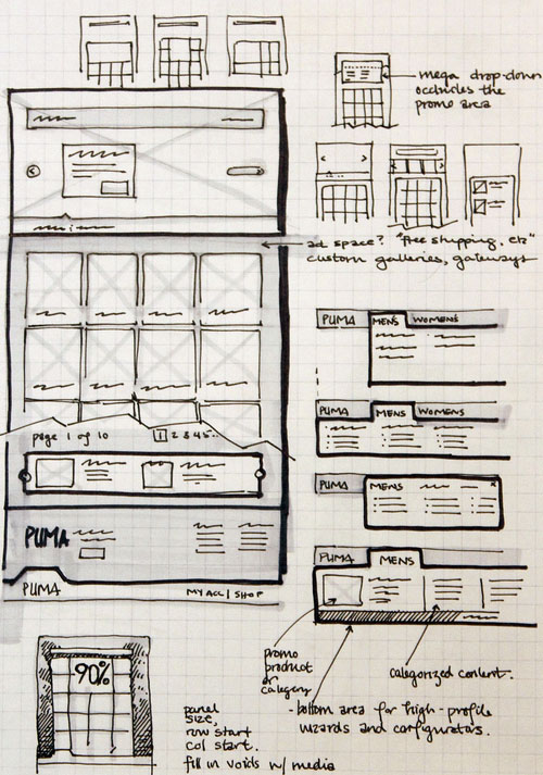 Viget Labs Wireframes 25 Examples of Wireframes and Mockups Sketches