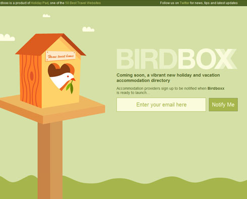 birdboxx 40 Creative Coming Soon Pages & Wordpress Themes