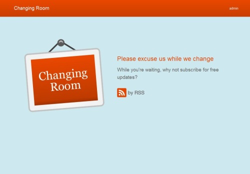 changing room wordpress theme1 40 Creative Coming Soon Pages & Wordpress Themes