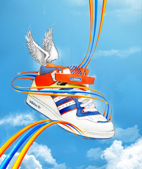 my adidas 31 Spectacular Examples of Adidas Artworks & Commercials