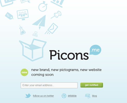picons 40 Creative Coming Soon Pages & Wordpress Themes