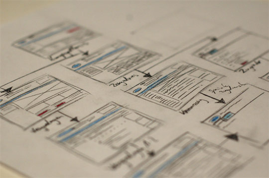 sketched wireframes 131 25 Examples of Wireframes and Mockups Sketches