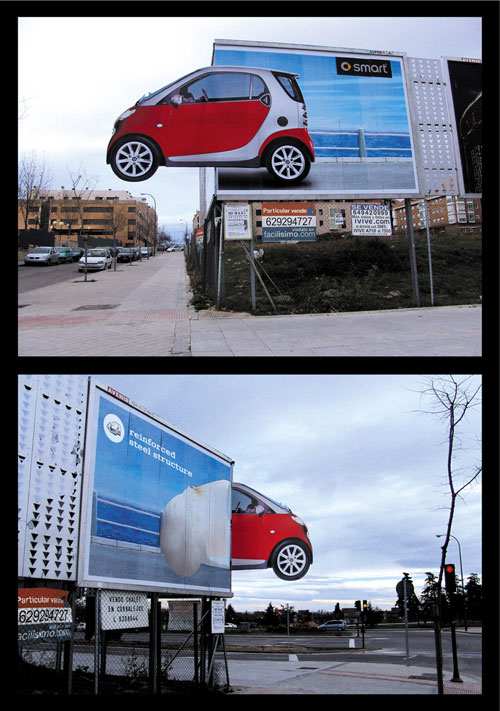 smartsteel1 35 Creative Examples of Billboard Designs