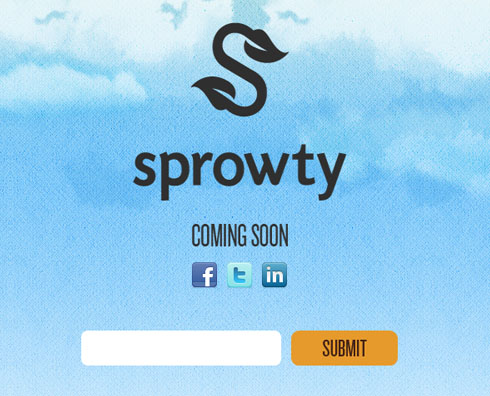 sprowty 40 Creative Coming Soon Pages & Wordpress Themes