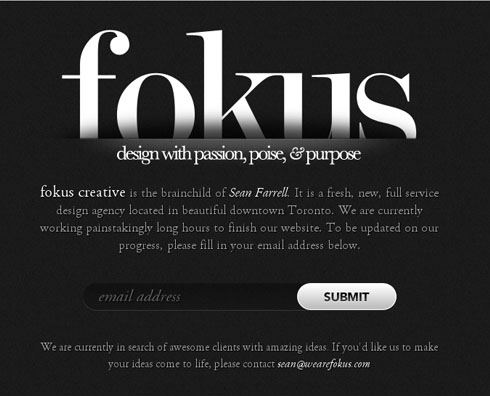 wearefokus 40 Creative Coming Soon Pages & Wordpress Themes