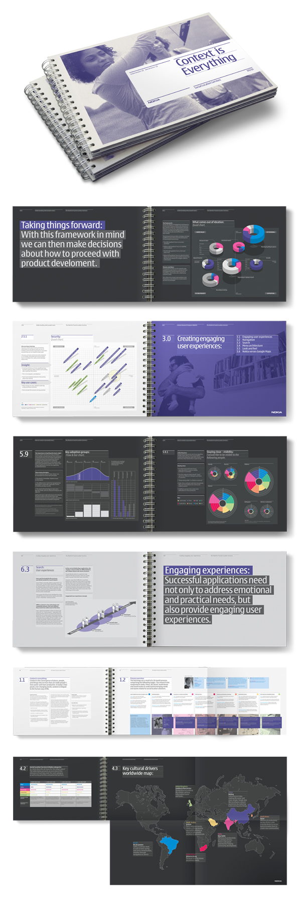 15581012677929491 25 Incredible Examples of Brochure and Catalog Design