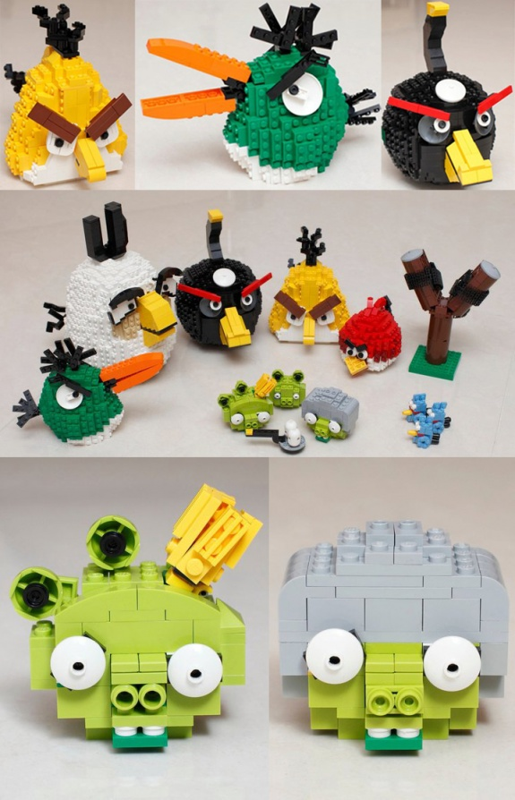 AB LEGOS1 30 Amazing Fan Inspired Angry Bird Artworks
