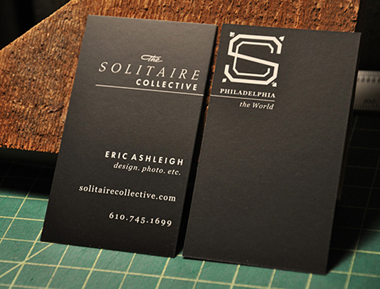 Black Silk Business Card l1 45 Fresh New Business Card Designs
