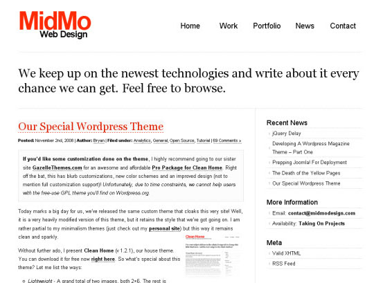Clean Home Pro 35 Free Clean and Useful Minimal Wordpress Themes