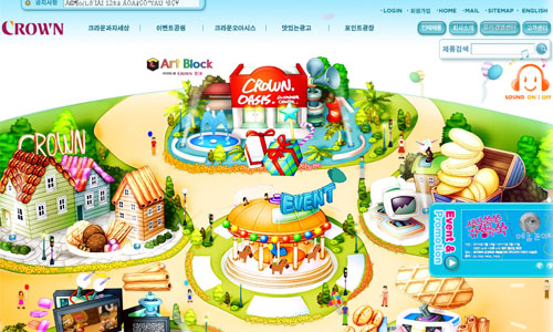 Crown 25 Stunning Website Designs from Korea