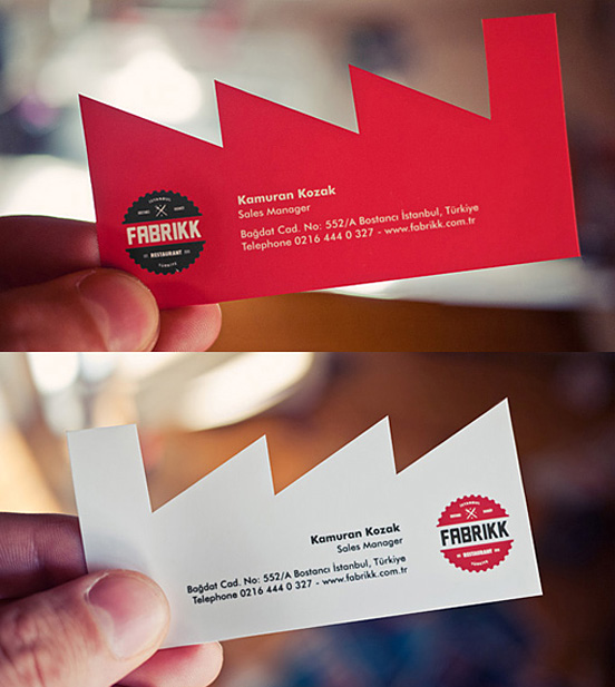 Fabrikk Business Card l1 45 Fresh New Business Card Designs