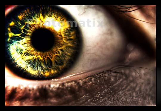 Fake HDR by crazygolucky1 20 Beautiful Macro Photos of the Human Eye