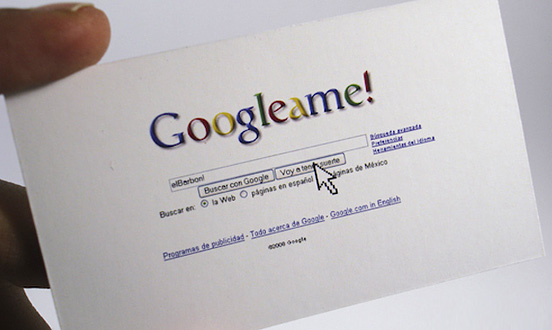 Googleame Business Card l1 45 Fresh New Business Card Designs