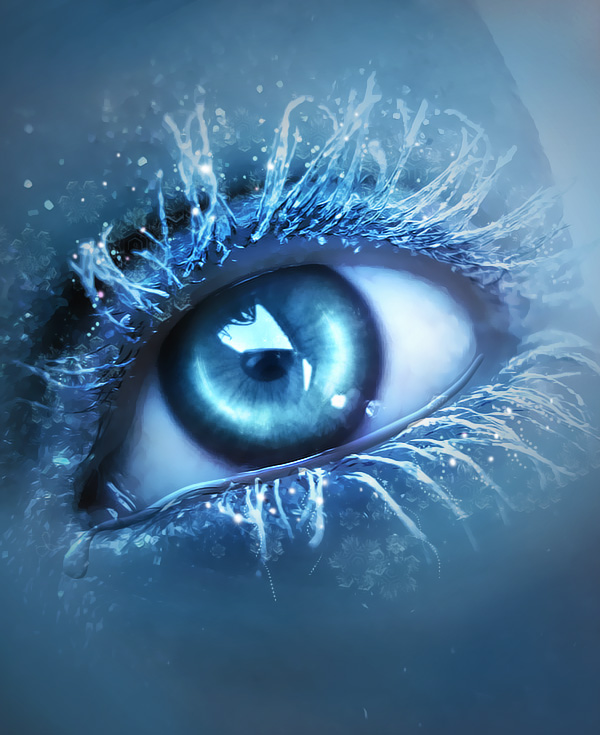 Ice Eye by lorency1 20 Beautiful Macro Photos of the Human Eye