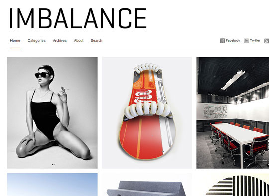 Imbalance 35 Free Clean and Useful Minimal Wordpress Themes