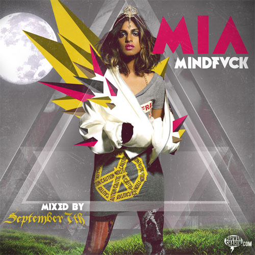 M.I.A. MINDFVCK1 25 Amazing Examples of Mixtape Cover Design