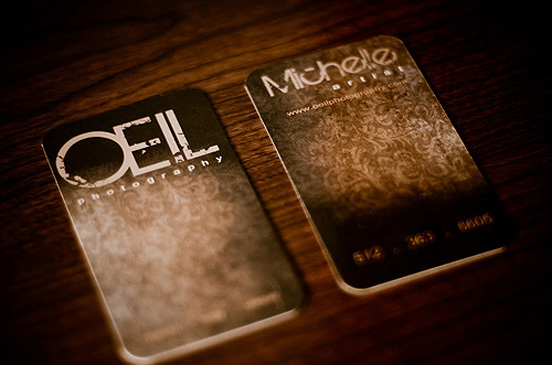 OEIL Photography l1 45 Fresh New Business Card Designs