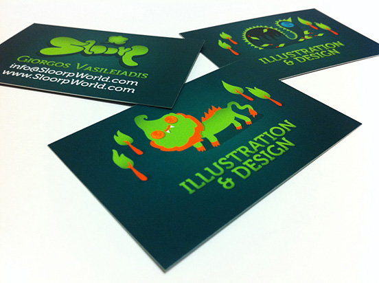 Sloorp Business Cards l1 45 Fresh New Business Card Designs