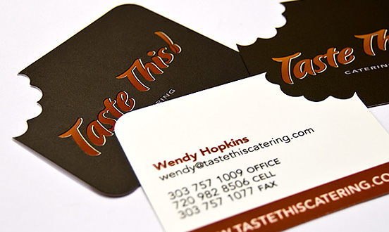 TasteThis l1 45 Fresh New Business Card Designs
