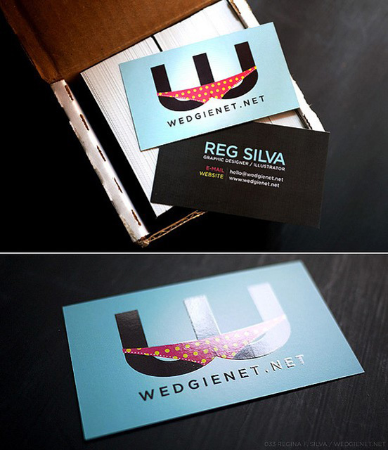 Wedgienet.net Business Card l1 45 Fresh New Business Card Designs
