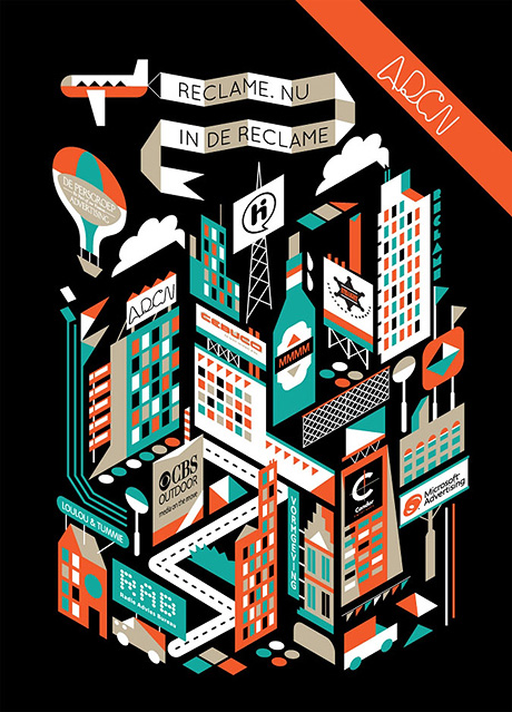adcn front1 25 Beautiful Flyer Design Inspirations