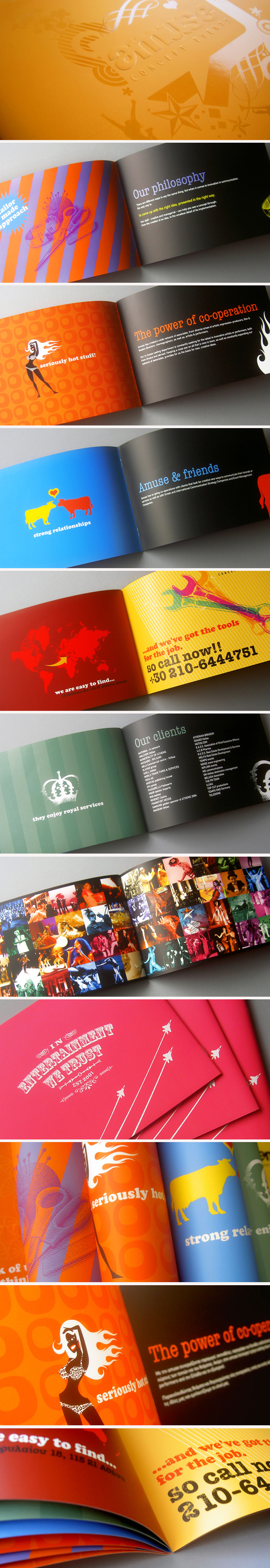 amuse in1 25 Incredible Examples of Brochure and Catalog Design