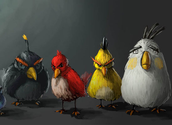 angry birds 30 Amazing Fan Inspired Angry Bird Artworks