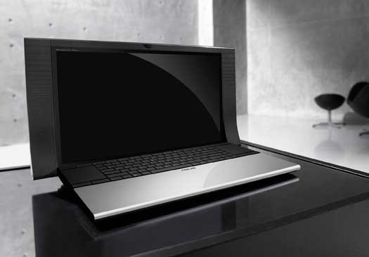 asus bang olufsen nx90 computer notebook1 20 Examples of Innovative Technology Designs