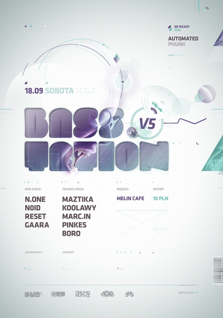 basstation1 25 Beautiful Flyer Design Inspirations